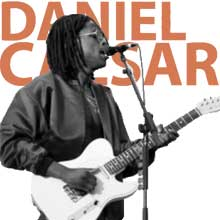 Daniel Caesar Japanese denim bass tabs