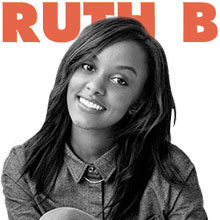 Accurate guitar tabs and chords by Ruth B.