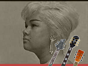 Etta James chords and tabs for bass and guitar