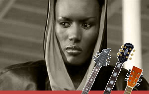 Grace Jones chords and tabs for bass and guitar