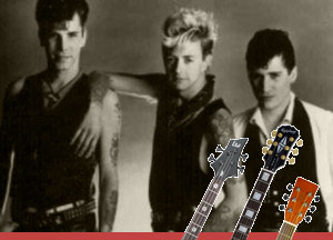 Summertime Blues The Stray Cats Tab
