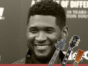 chords and tabs for Usher