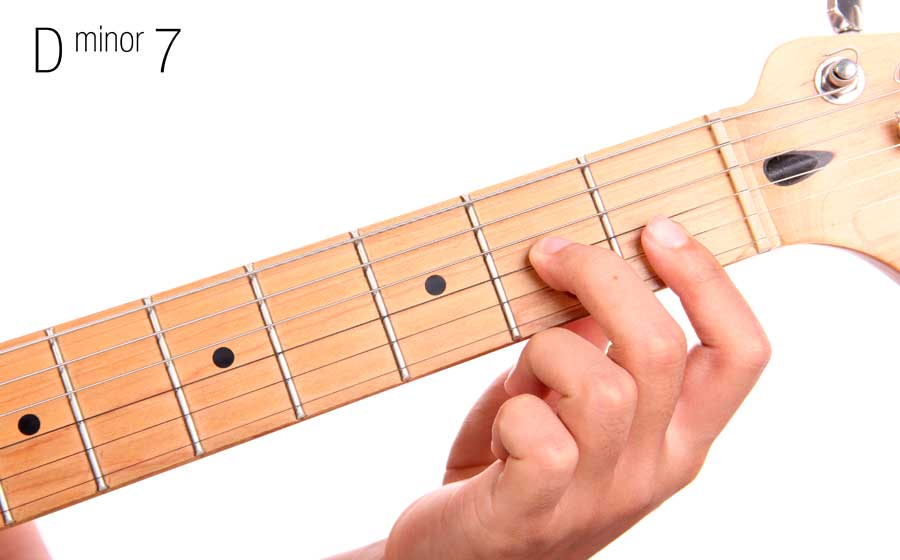 How to play D Minor 7 guitar chord | Video and guitar lesson