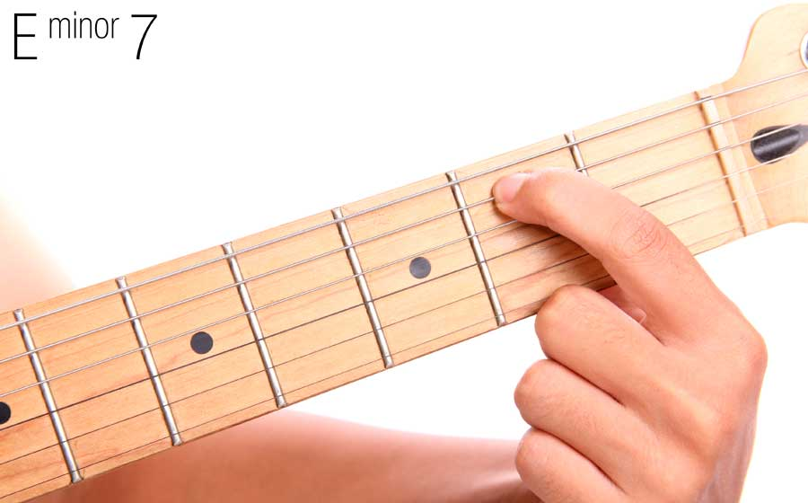 How To Play E Minor 7 On Guitar Video And Guitar Lesson