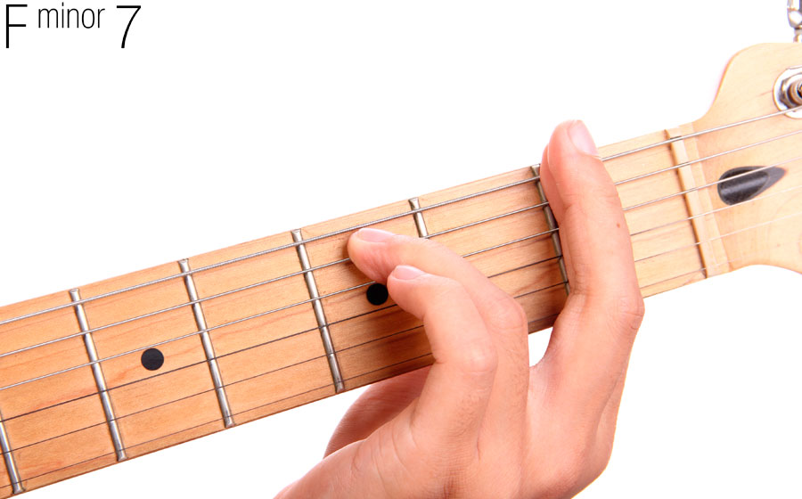 How To Play F Minor 7 On Your Guitar Guitartabsexplorer