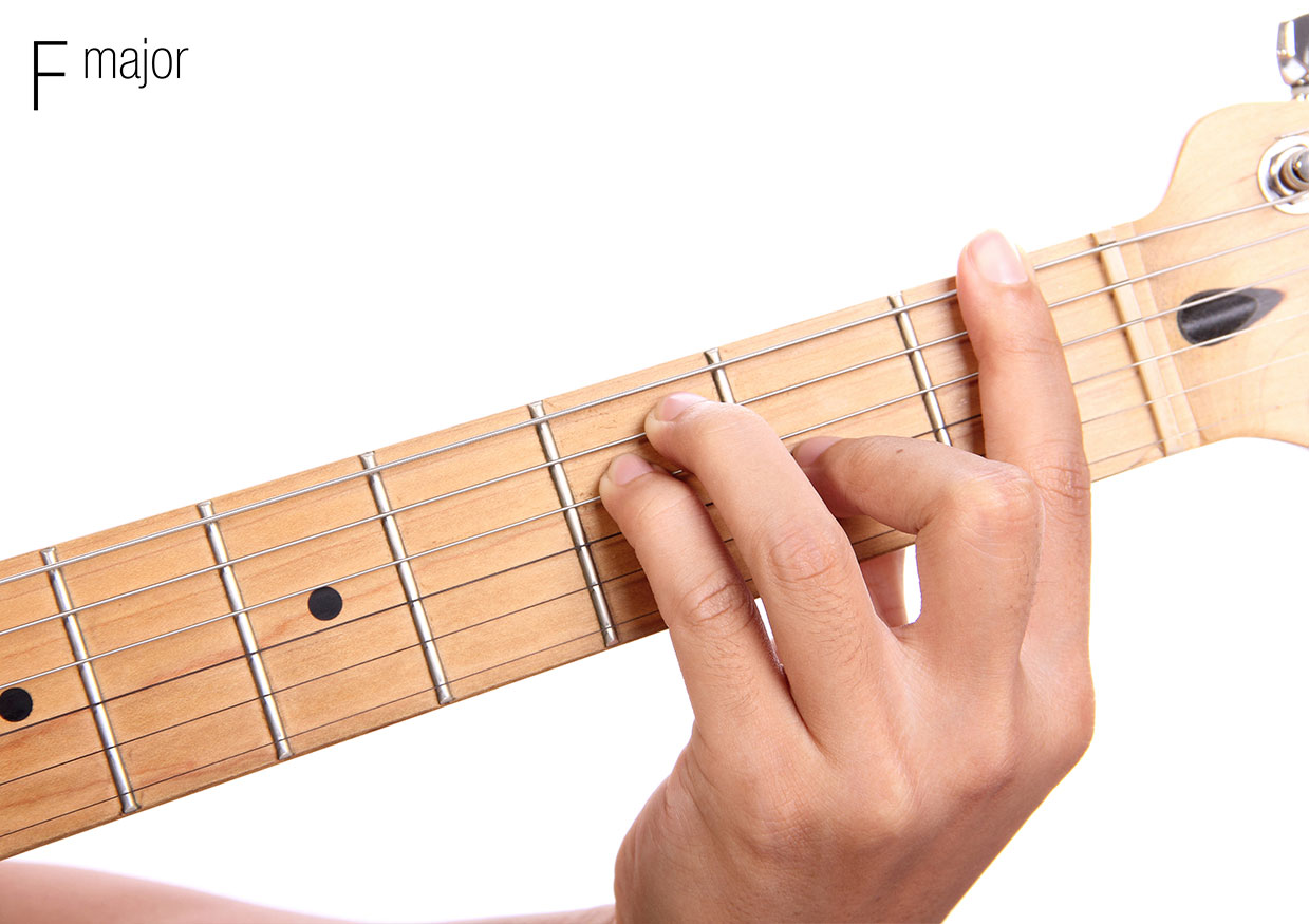 How To Play F Major Open Chord Guitartabsexplorer