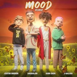 24kgoldn chords for Mood remix