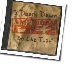 3 Doors Down tabs for Be like that acoustic
