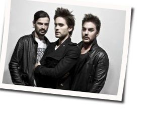 30 Seconds To Mars tabs for Hurricane