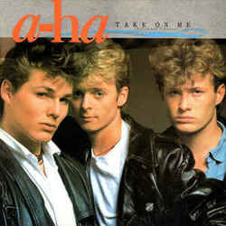 A-ha guitar chords for Take on me (Ver. 2)