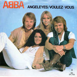 ABBA chords for Angel eyes