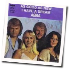 ABBA chords for As good as new