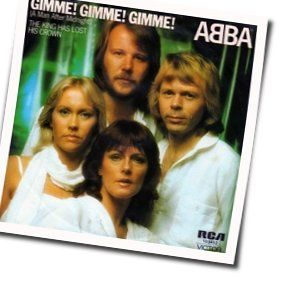 ABBA tabs for Gimme gimme gimme