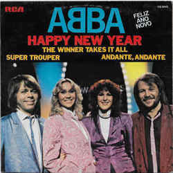 ABBA guitar chords for Happy new year (Ver. 2)