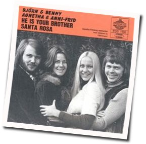 ABBA chords for He is your brother