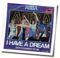 ABBA chords for I have a dream