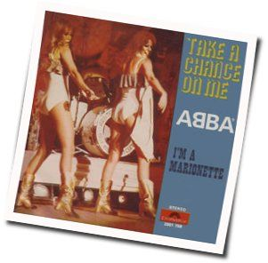 ABBA chords for Im a marionette