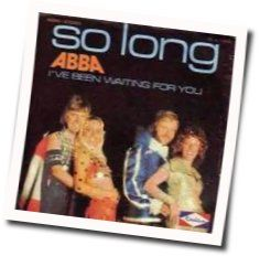 ABBA chords for Ive been waiting for you