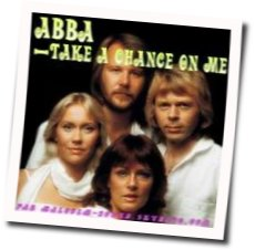 ABBA chords for Take a chance on me