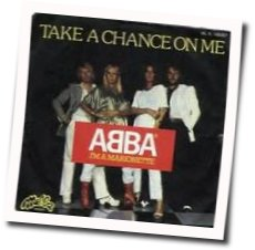 ABBA chords for Take a chance on me (Ver. 3)