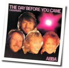 ABBA chords for The day before you came
