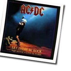 AC/DC tabs for Let there be rock