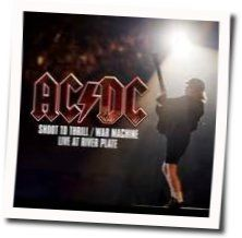AC/DC chords for Shoot to thrill