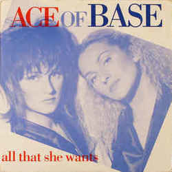 Ace Of Base chords for All that she wants