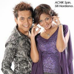 Achik Spin chords for Paling comel