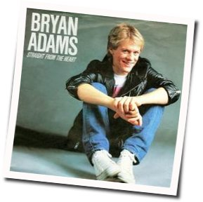 Bryan Adams tabs for Straight from the heart