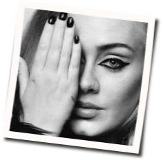 Adele guitar chords for All i ask
