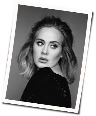 Adele guitar chords for Baby its you