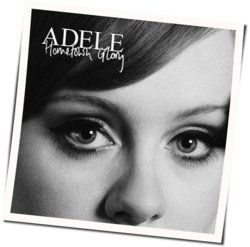 Adele guitar tabs for Hometown glory