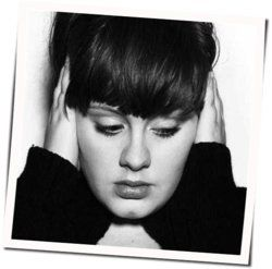 Adele guitar tabs for Many shades of black