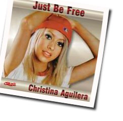 Christina Aguilera chords for Just be free