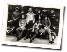 Allman Brothers chords for Dream