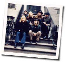 Allman Brothers chords for Dreams