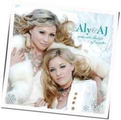 Aly And Aj guitar chords for We wish you a merry christmas