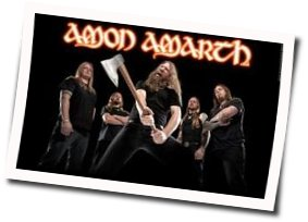 Amarth Amon chords for Raise your horns