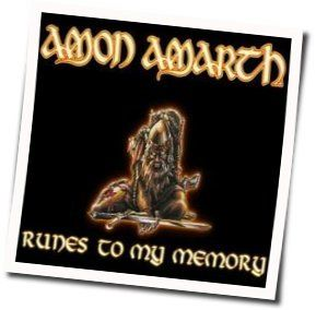 Amarth Amon chords for Runes to my memory acoustic