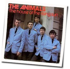 The Animals chords for House of the rising sun (Ver. 3)
