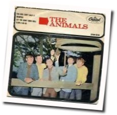 The Animals chords for Let the good times roll