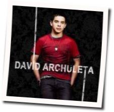 David Archuleta guitar chords for My hands