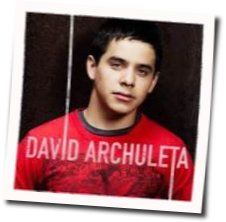 David Archuleta guitar chords for Shes not you