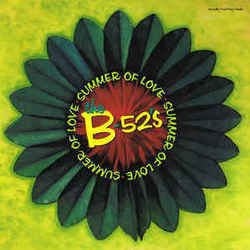 The B-52's guitar chords for Summer of love