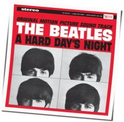 The Beatles guitar chords for A hard days night