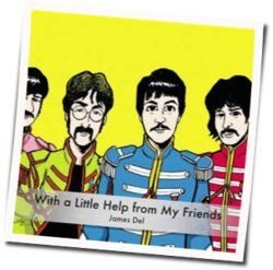 The Beatles guitar chords for A little help from my friends