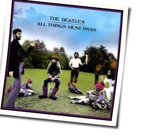 The Beatles guitar chords for All things must pass