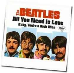 The Beatles guitar chords for All you need is love (Ver. 2)