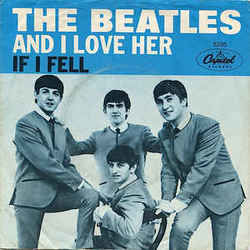 The Beatles guitar tabs for And i love her (acoustic)